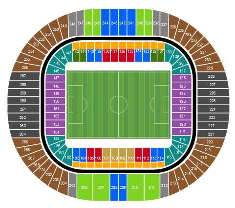 цска - Реал Мадрид 2 октября купить билеты Стадион «Лужники»
