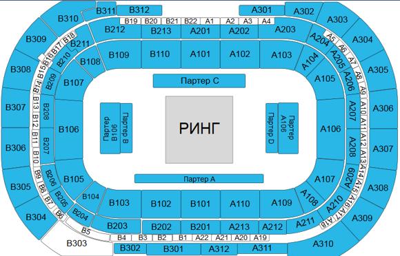 Fight Nights Global 92 6 апреля 17:00 ВТБ Арена – Центральный стадион «Динамо» (Малая арена)