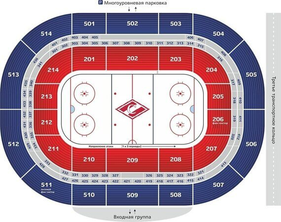 билеты на хоккей Спартак